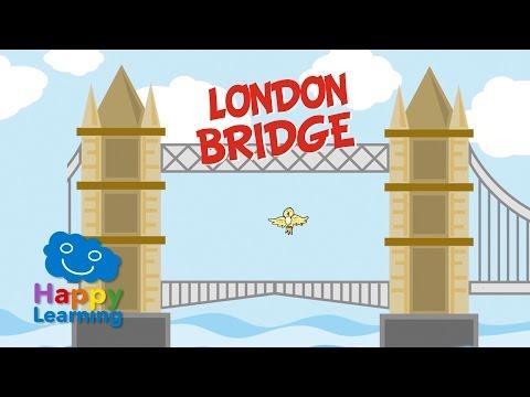 London Bridge is Falling Down | Canción Infantil en Inglés con Letra