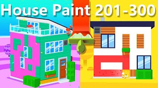 House Paint Walkthrough Level 201 - 300