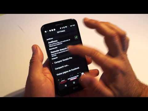 Un sensacional y diferente reproductor de música para Android