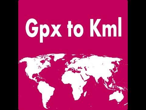 WhiterockSoftware com: Gpx to Kml
