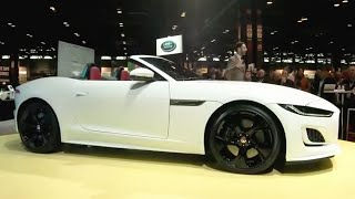 Watch the FULL unveil of the new Jaguar F-Type sports car