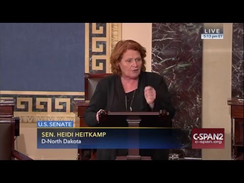 Heitkamp Calls for Support for her Bipartisan Bill to Expand Agriculture Exports to Cuba
