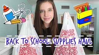 Back To School Supplies Haul 2014! Thumbnail