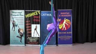 Заводова Вероника, 13 лет - Catwalk Dance Fest VIIl [pole dance, aerial] 14.05.17.