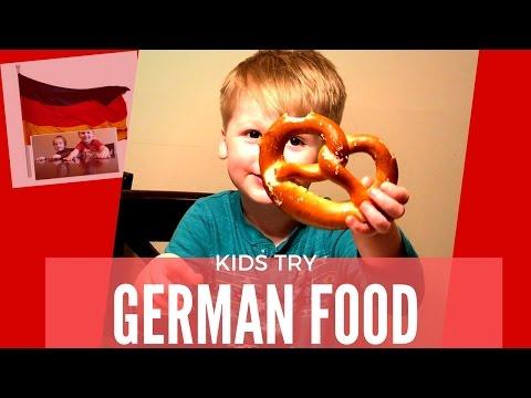 Kids Try German Food!