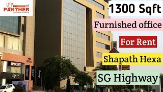 1300 Sq Ft Office For Sale Shapath Hexa Sg Highway Near High Court Ahmedabad
