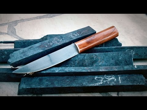 Making a Knife from Wrought Iron Wagon Wheels: Recycling History