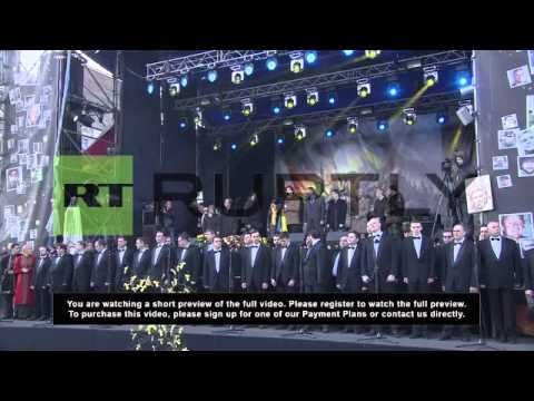 Ukraine: Khodorkovsky preaches peace on Maidan
