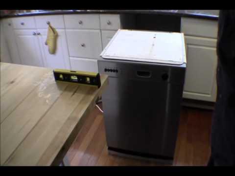 Ricksdiy Installing Sheet Metal Overflow Drain Catch Pan For A Dishwasher