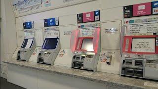 [久々に見たカードリーダー設置の券売機]JR西日本福井駅の券売機でSuicaの履歴を印字してみた