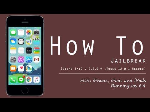 วิธีการเจลเบรค iOS 8.4 โดยใช้ TaiG 2.2.0