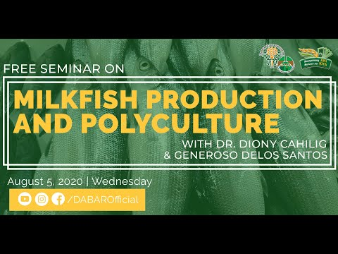 Organic Milkfish Production And Polyculture System