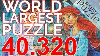 World largest Puzzle | 40.320 Pieces | Arielle by Ravensburger (Cover II)