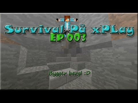 xPlay Survival: [Ep.3] Bygger ett Berg! - (Svenska) [SWE]