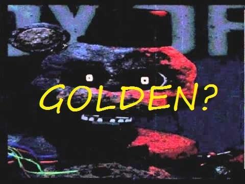 TJOC: Reborn  ignited golden freddy (fanmade by me)