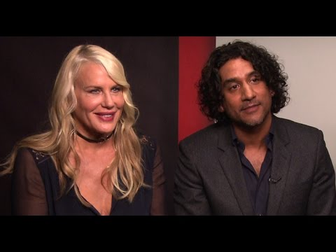 SENSE8 Interview with Daryl Hannah and Naveen Andrews (Exclusive)