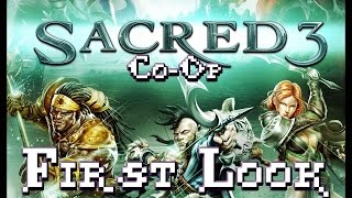 Sacred 3, Co-op First look Gameplay, Safiri And Malakim