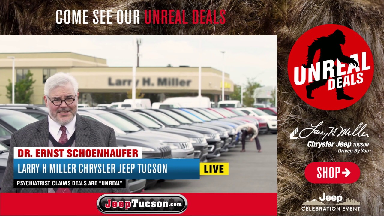 Big Finish 2017 Unreal Deals | Larry H. Miller Chrysler Jeep Tucson
