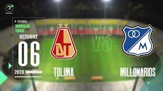 EN VIVO #Tolima Vs. #Millonarios #LigaBetPlay 2020