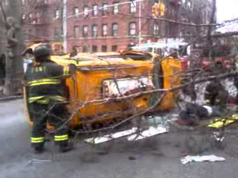 Accident in Crown Heights, Brooklyn