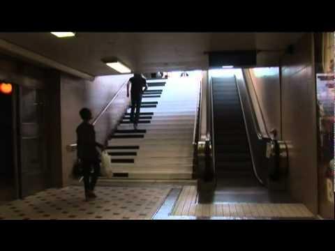 Die Klavier Treppe