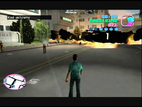 gta vice city big bang tank youtube