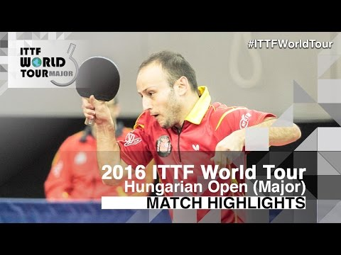 Hungarian Open 2016 Highlights: CHUANG Chih-Yuan vs MACHADO Carlos (1/4)