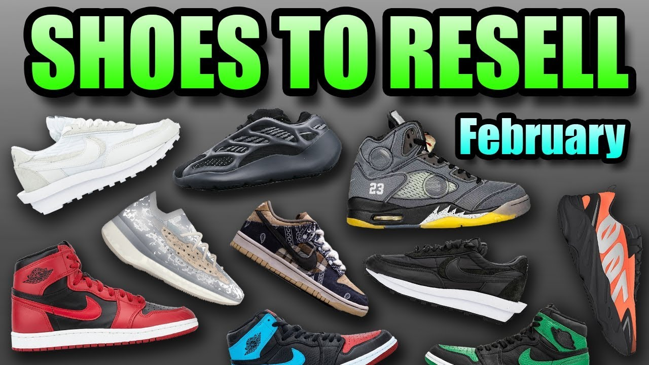 Most Hyped Sneaker Releases February
