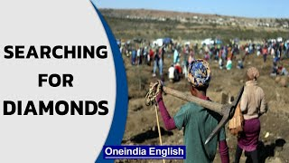 South Africa village sees 'diamond' rush, people come to dig for fortune | Oneindia News