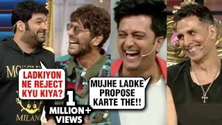Akshay Kumar, Ritesh, Bobby, Chunkey Kapil Sharma COMEDY RIDE | The Kapil Sharma Show Housefull 4