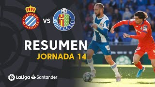Resumen de RCD Espanyol vs Getafe CF (1-1)