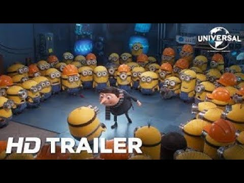 Minions: The Rise Of Gru – Official Trailer (Universal Pictures) HD