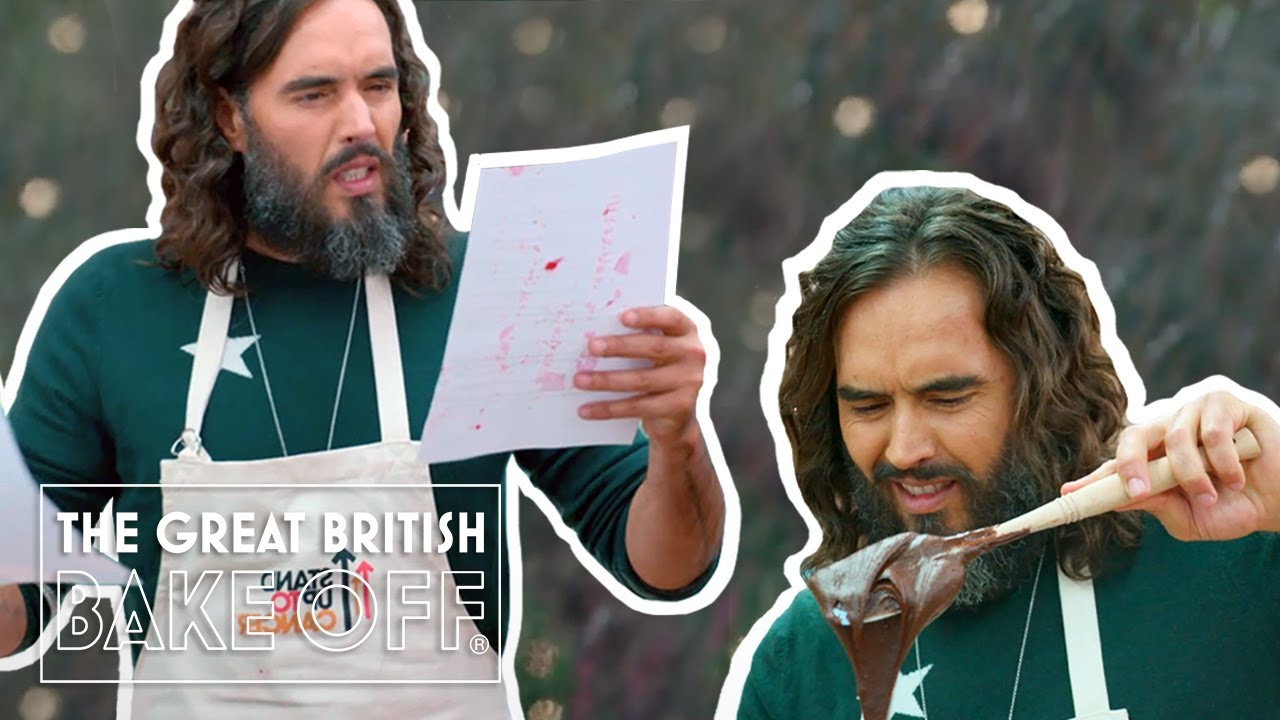 Download Russell Brand shocks the tent with his intimate Showstopper | The Great Stand Up To Cancer Bake Off