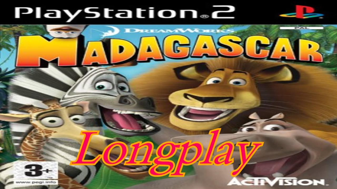 PS2 Longplay Dreamworks Madagascar PAL YouTube