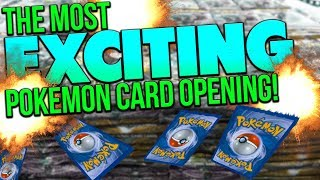How to Open Pokemon Cards with MAXIMUM EXCITEMENT! | Lockstin