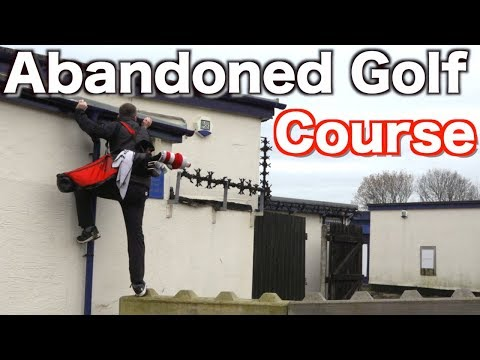Abandoned Golf Course - IS THERE A EPIDEMIC IN GOLF ?