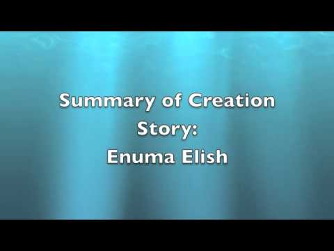 enuma elish summary Death in the enuma elish, when tiamat and apsu comingle their waters to produce the gods, each is described as representing an advancement over their parents.