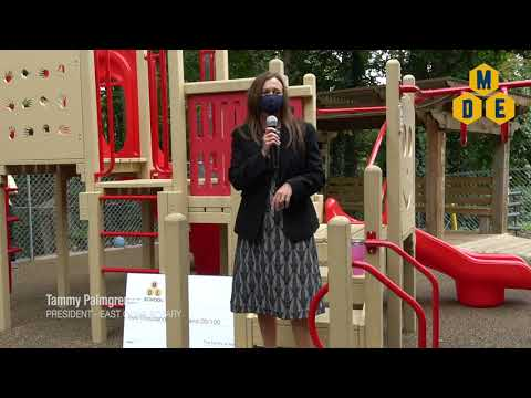 MDE School's Playground Dedication - October 15, 2020