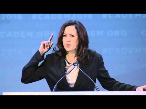 Attorney General Kamala D. Harris at CA Democrats Convention 2016