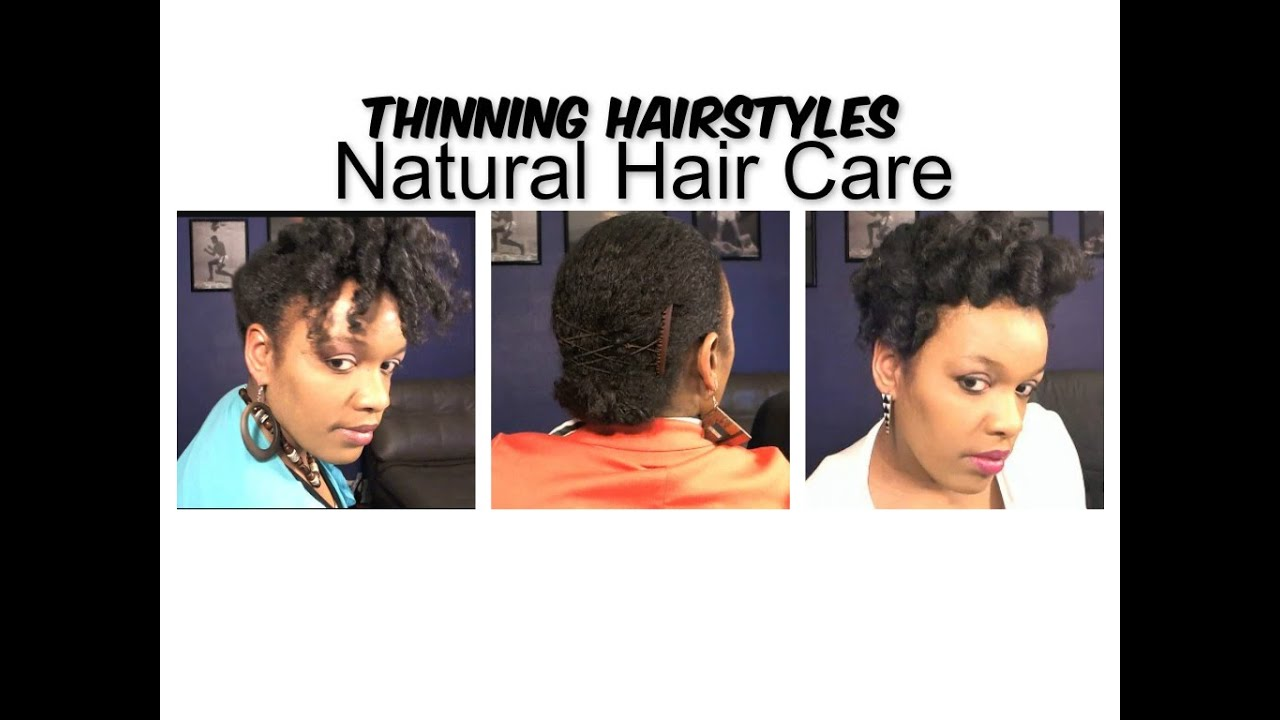 Preview 3 Natural Hairstyles For Fine Thinning Natural Hair