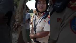 Traffic Police Binh Duong No Director of Minutes for Tai Xe Ki | PDTV
