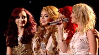 ITV1 The X Factor Final Results - Little Mix