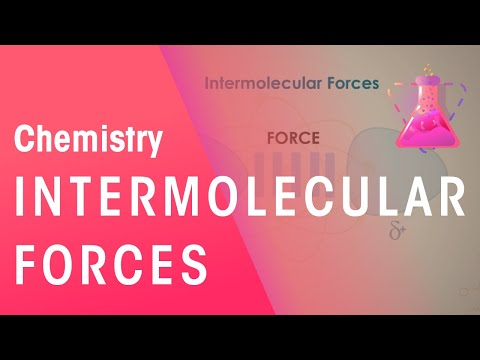 What Are Intermolecular Forces | Properties Of Matter | Chemistry | FuseSchool