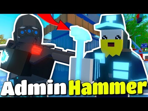 We RAIDED With OVERPOWERED ADMIN HAMMERS! - Modded Unturned #123 thumbnail