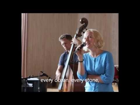 As you are; by Nils Lindberg & Red Mitchell. With Nils Lindberg, Agnes Lindberg & Olle Lindberg.