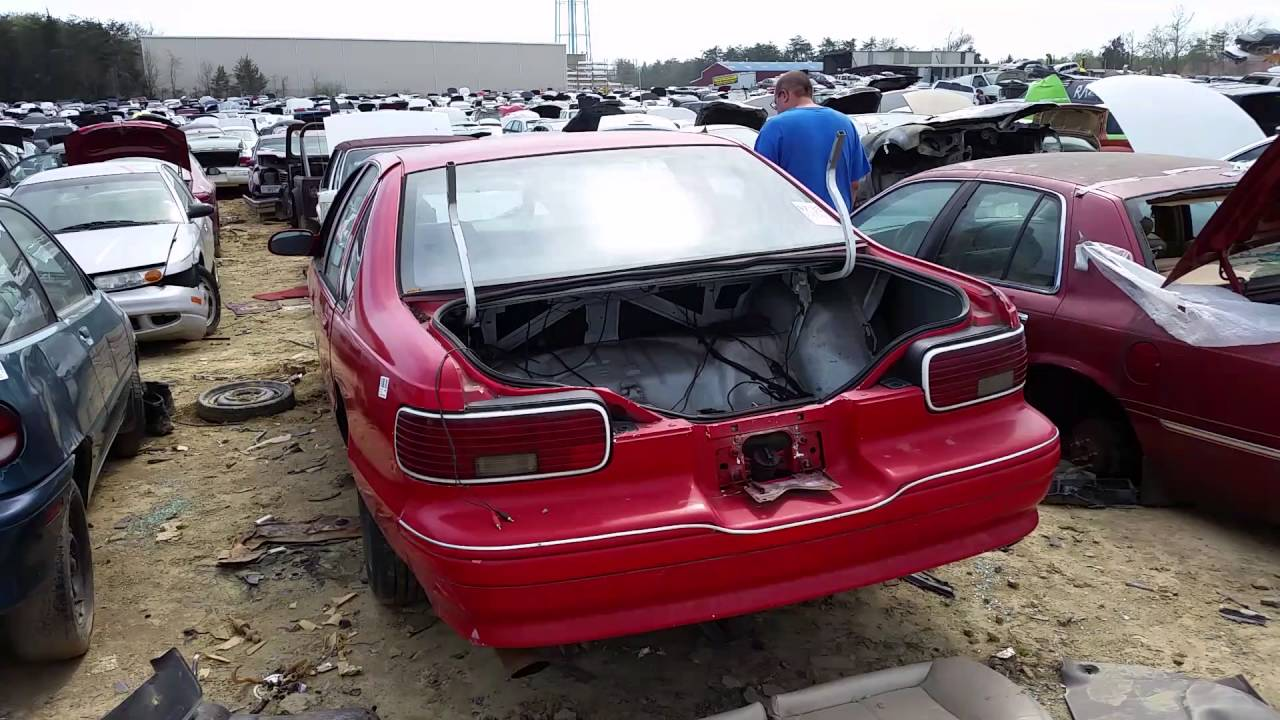 1996 Chevy Caprice Sedan At Pick A Part Junkyard In Fredericksburg Va You