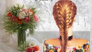 Очень красивая коса. Сдвоенная коса. Beautiful Braids. Подписывайтесь на мой канал!