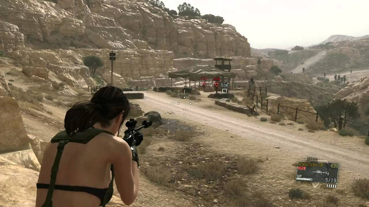 MGS5 TPP Mod - Quiet Mod v1 5 *Download* (Proportions, Breast Physics)