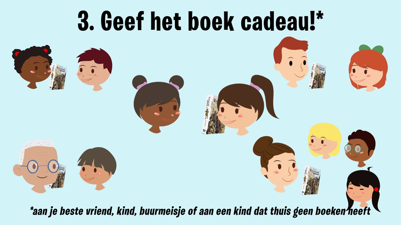 Geef Een Boek Cadeau