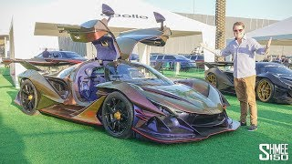 THIS is the Greatest Supercar Display EVER!